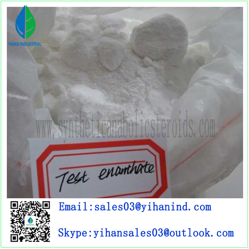 Raw Steroid Powders Testosterone Enanthate Test Enanthate Muscle Mass 315-37-07 Iris