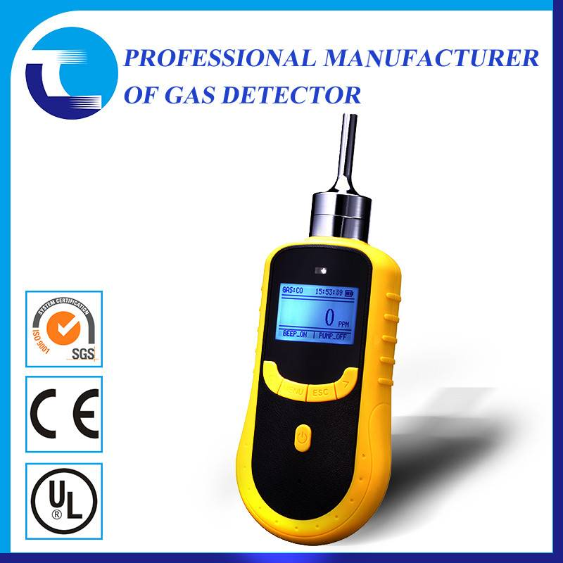 Portable CL2 chlorine gas detector with sampling pump