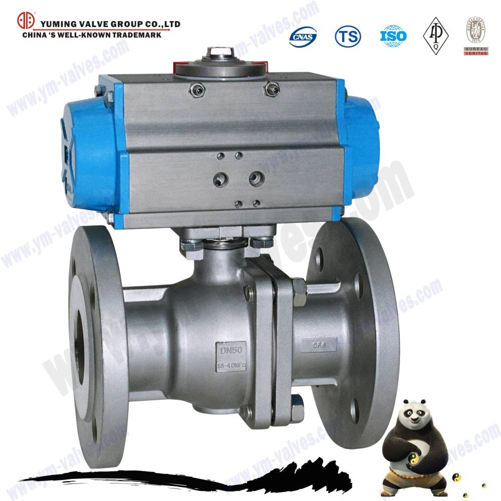 electric motorized flange ball valve