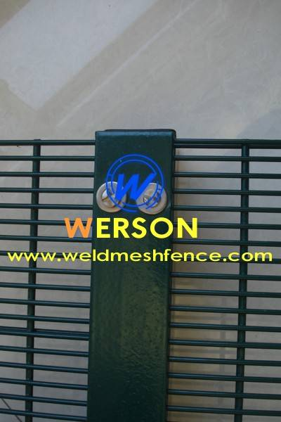 Securextra 2D Security Fencing