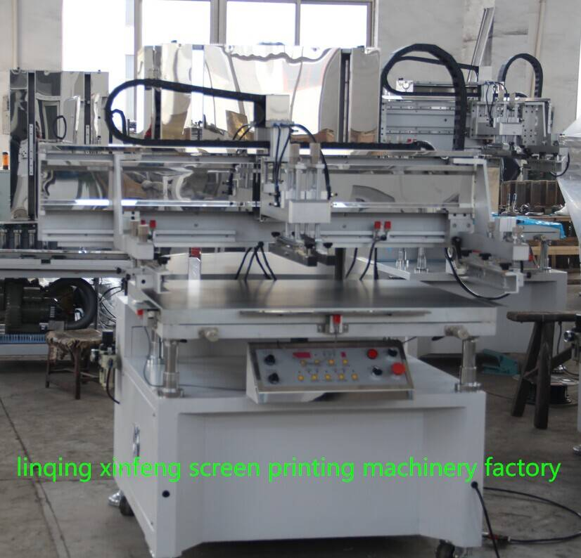 automatic flat silk screen printing machine