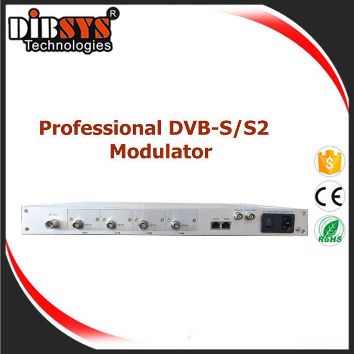 Professinal DVB-S/S2 Modulator