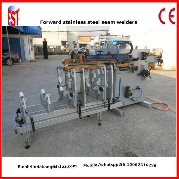 Air duct vanitation pipe welding machine