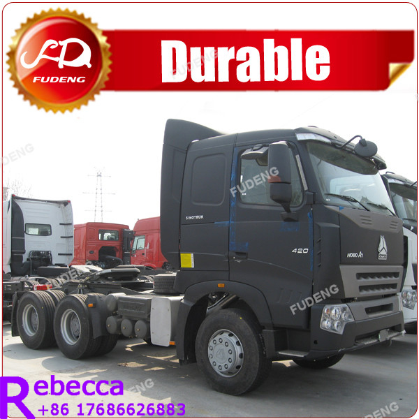 SINO HOWO 6×4 towing tractor head truck head for sale