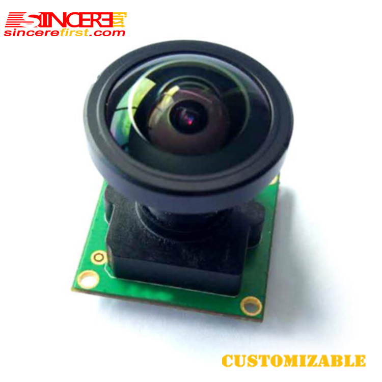 SINCERE FRIST Factory price 2MP wide angle sony IMX290 sensor camera module with lens M12