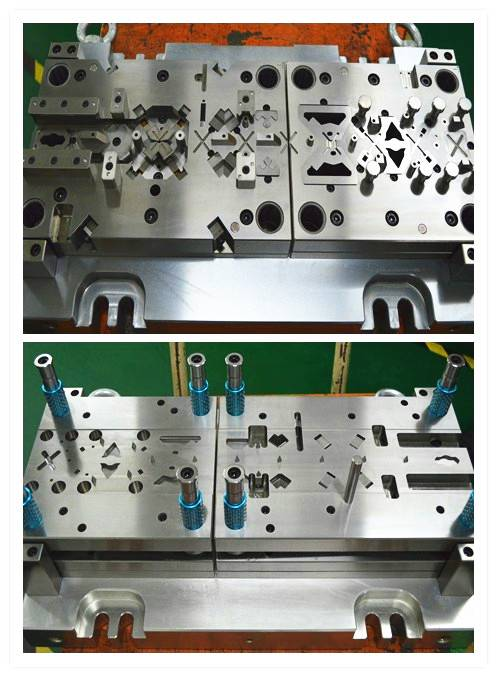 Precision die components and spare parts