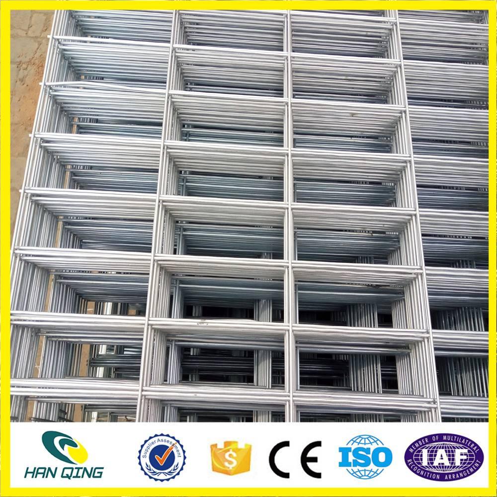 2.0mm galvanized welded wire mesh panel