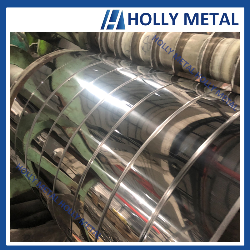 Cold Rolled Stainless Steel Coil Roll Strip Grade 201 304 410 430