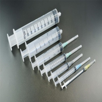Plastic Disposable syringe for Single Injection