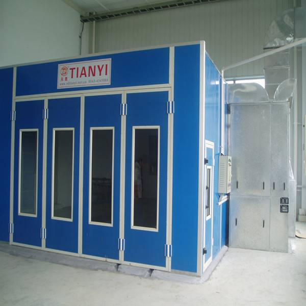 Tianyi CE approved spray booth paint booth bake oven/spray booth heating system/spray booth