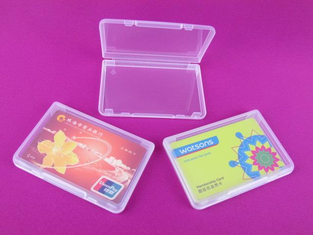 Customized made soft plastic sim pp card case