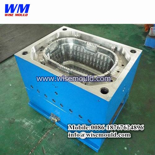 Best household products design and mould manufacturing/shopping basket mould/basket mold