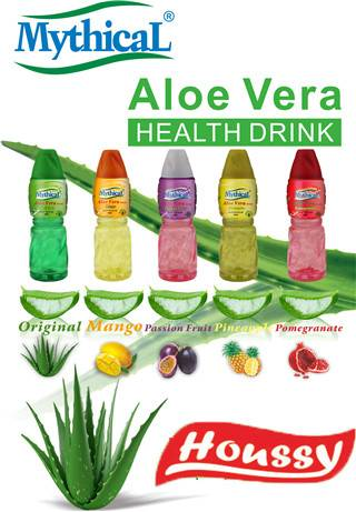 2016 Hot Brand HOUSSY 100% Healthy Five Flavors Mythical Aloe Vera Drink