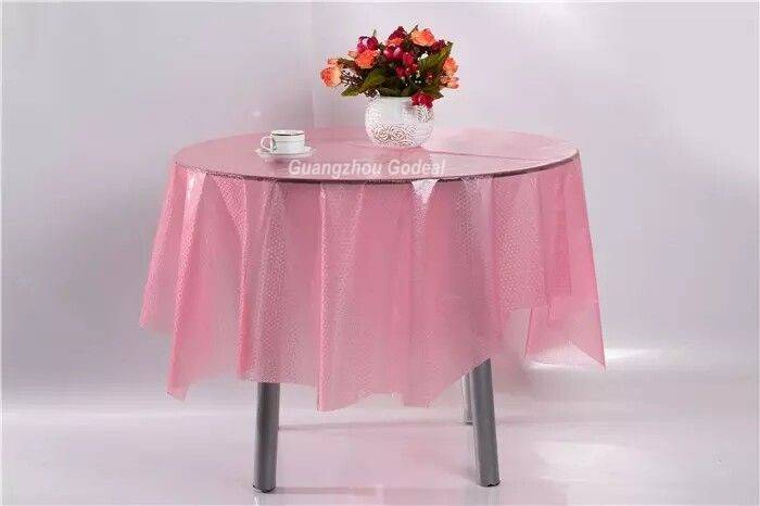 New factory custom made EVA table cover easy-cut low MOQ good quality table cloth