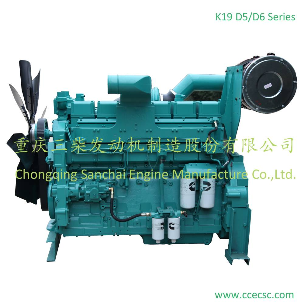 Sanchai Cummins KTA19-G5 Generator Diesel Engine