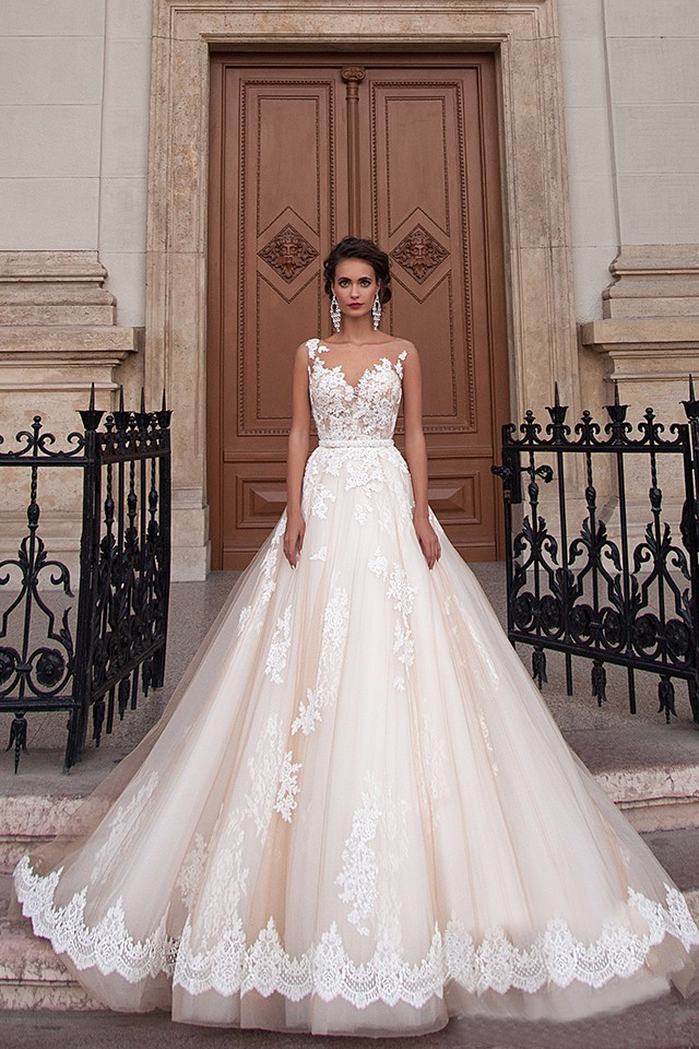 New Arrival Sexy A-Line Lace Wedding Dress 2017