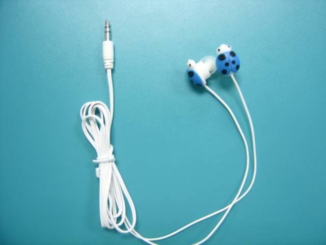 Ladybug style earphone