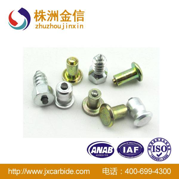 Tungsten carbide tire studs for car truck / screw snow tire studs for sale