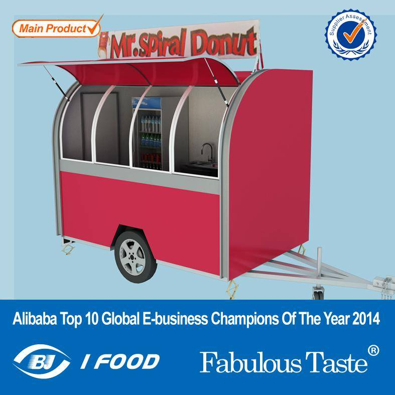 New Products Mobile Food Van For Sale