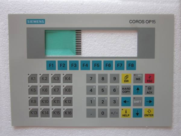 Membran keypad for OP15-C1 SERIES