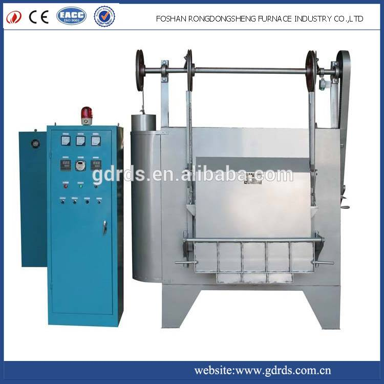 1100 high temperature electric metal annealing heat treatment box resistance furnace for sale