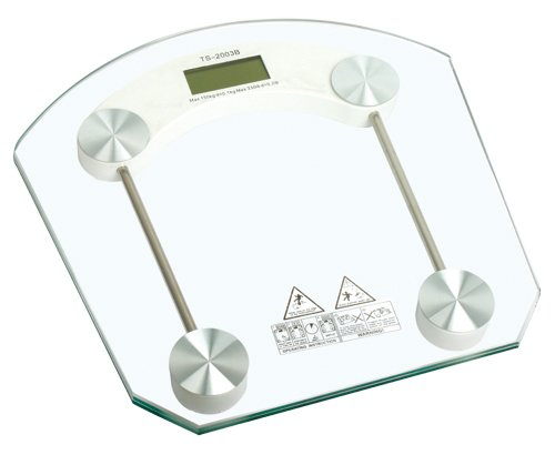 6mm Tempered Glass Digital Body Weight Bathroom Scale