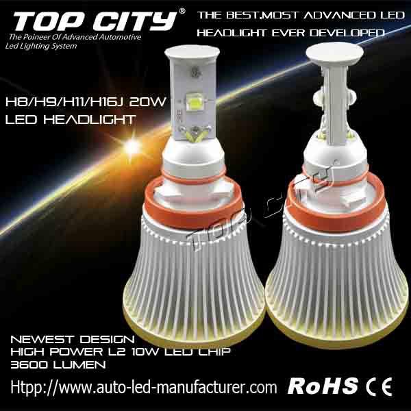 H3 30W High Power Super Bright LED White Fog Tail Turn DRL Head Car Light Lamp Bulb