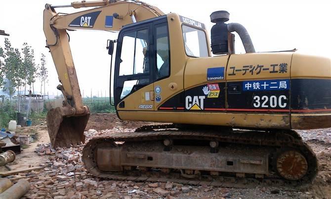 CAT 320C,caterpillar 320C used excavators