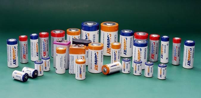 3.6V lithium thionyl chloride battery 2/3A size ER17335,ER17335H,LS17330
