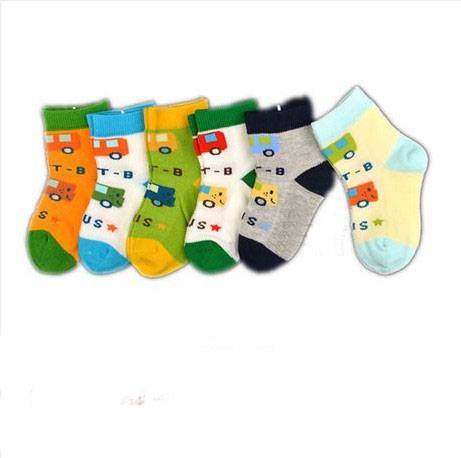 High Quality Cotton Solid Baby Socks