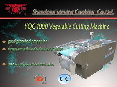YQC-1000 YQC-QJ660A multifunction vegetable cutting machine