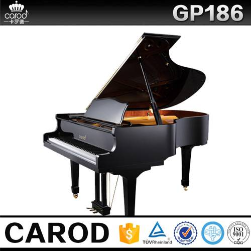 cheap black grand piano 186cm