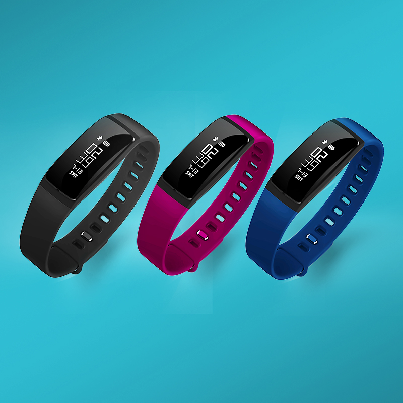 Factory price heart rate smart bracelet with sleep monitor waterproof