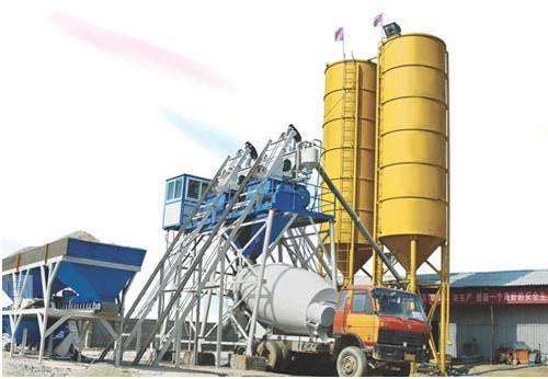 HZS25 Ready Mix Concrete Plant