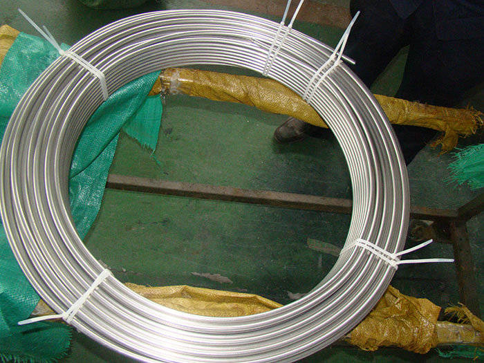 Micro Capillary Pipe Stainless Seamless Steel Tube Coiled Tubes