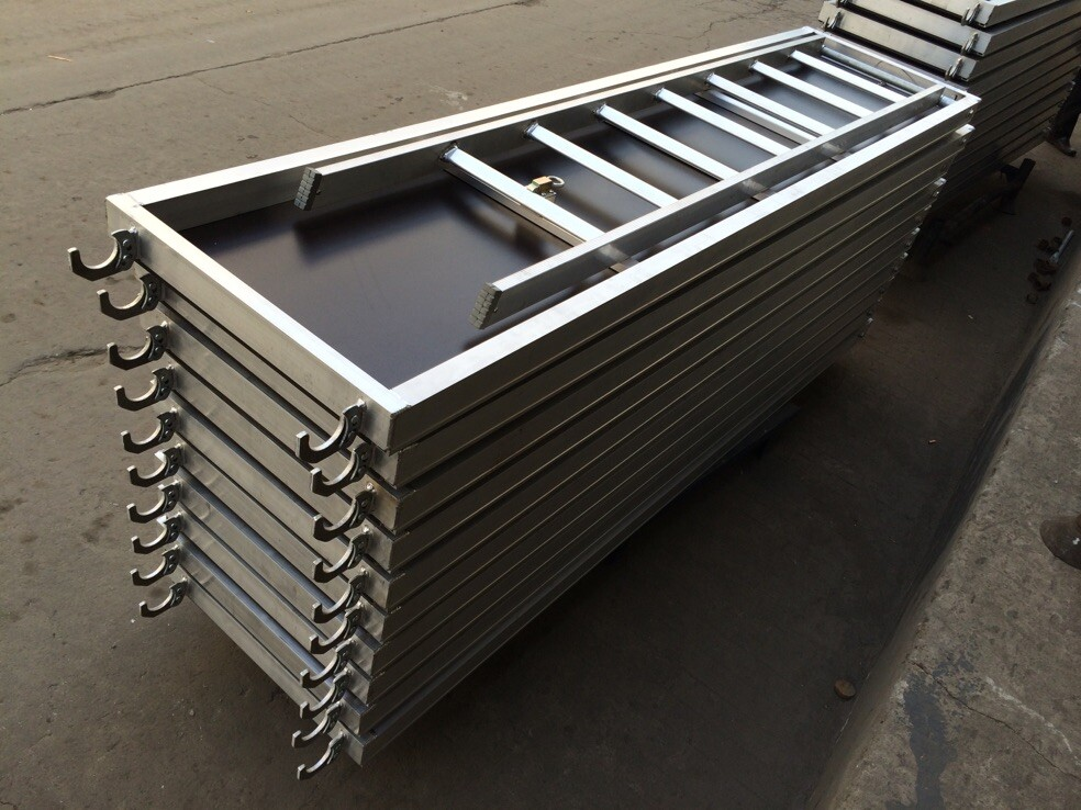Laminated Aluminum Scaffold Plank With Ladder
