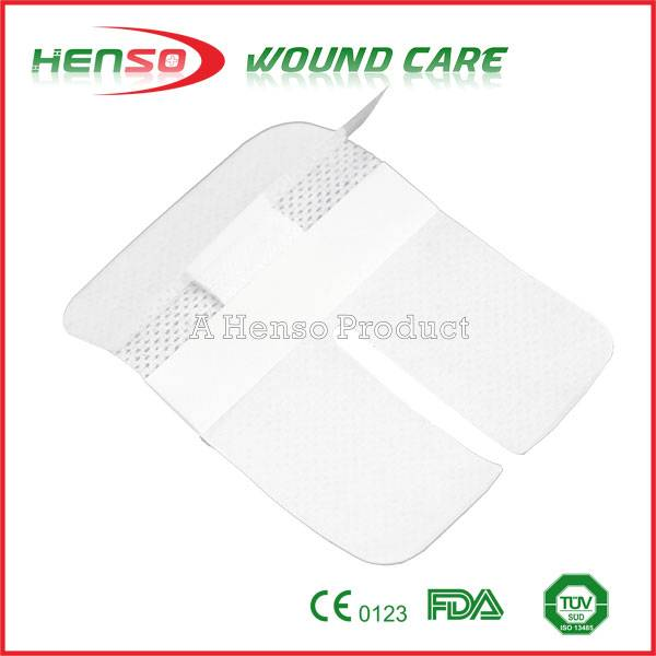 HENSO Sterile Medical Adhesive Cannula IV Wound Dressing