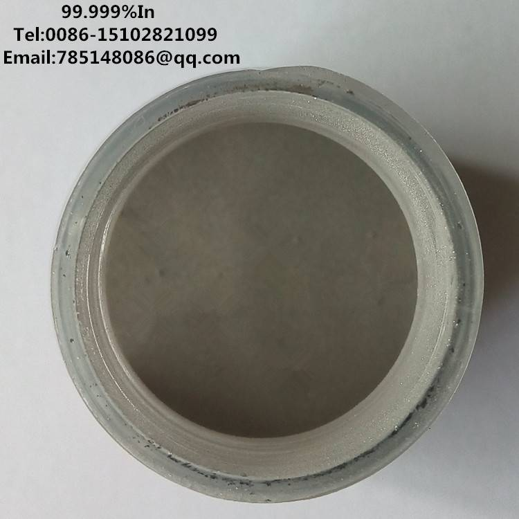 99.99%-99.9999% high purity indium (In)