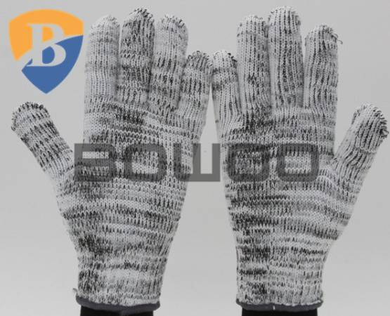 10G polyester knitted safety working glove