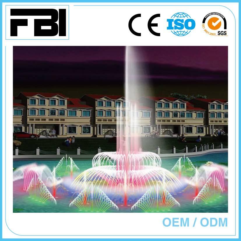 10m floating fountain, lake fountain, music dancing fountain