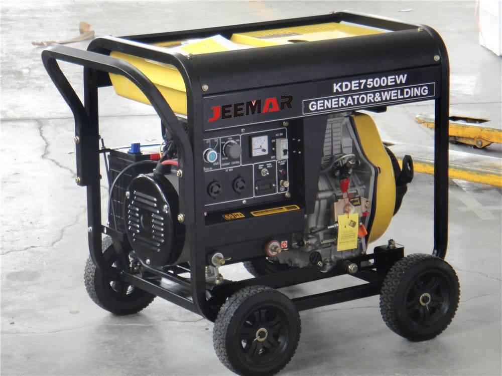 Diesel&Welding generator