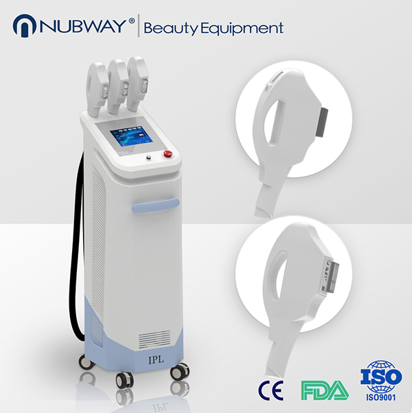 2017 Newest OPT beauty salon equipment shr & ipl laser hair removal and skin rejuvenation machine