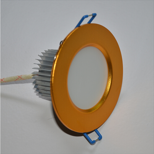 3W Sand Gold Nature White LED Downlight