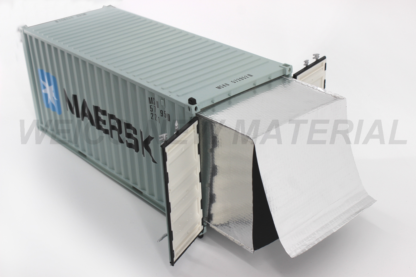 Aluminum Foil Heat Resistant Big Insulation Liner for Container
