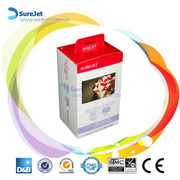 KP-108in ribbon for Canon SELPHY printer