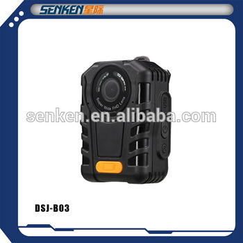 Senken digital video police body worn Camera support one button recording FOB Reference Price:Get La