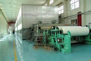 Test liner paper making machine