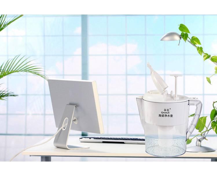 household  drinking straight ceramic net kettle