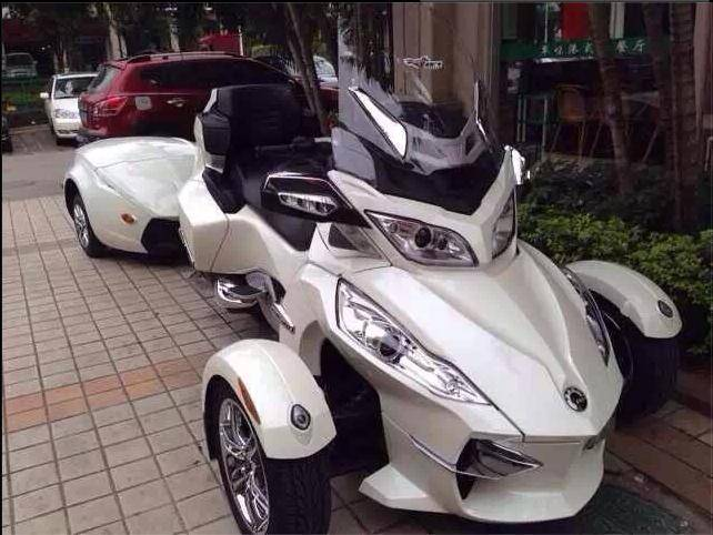 can am spyder RT