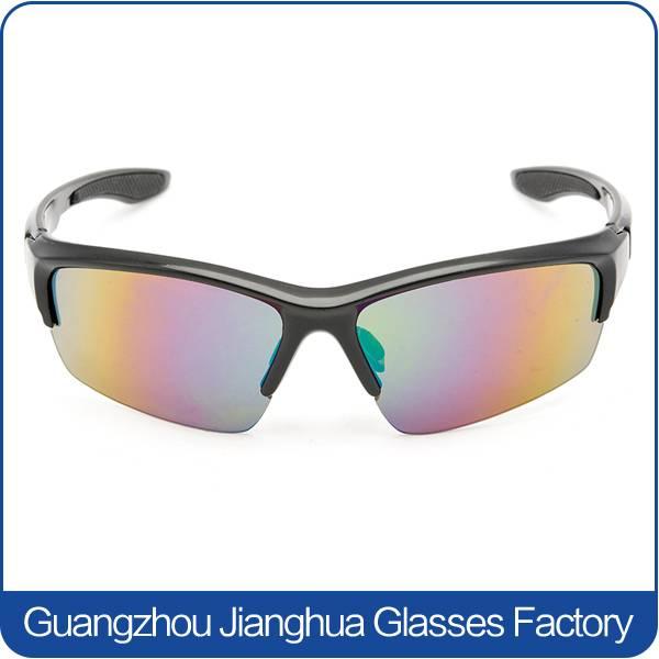 2015 trendy sports sunglasses multicolor lens polycarbonate UV400 protective sun glasses